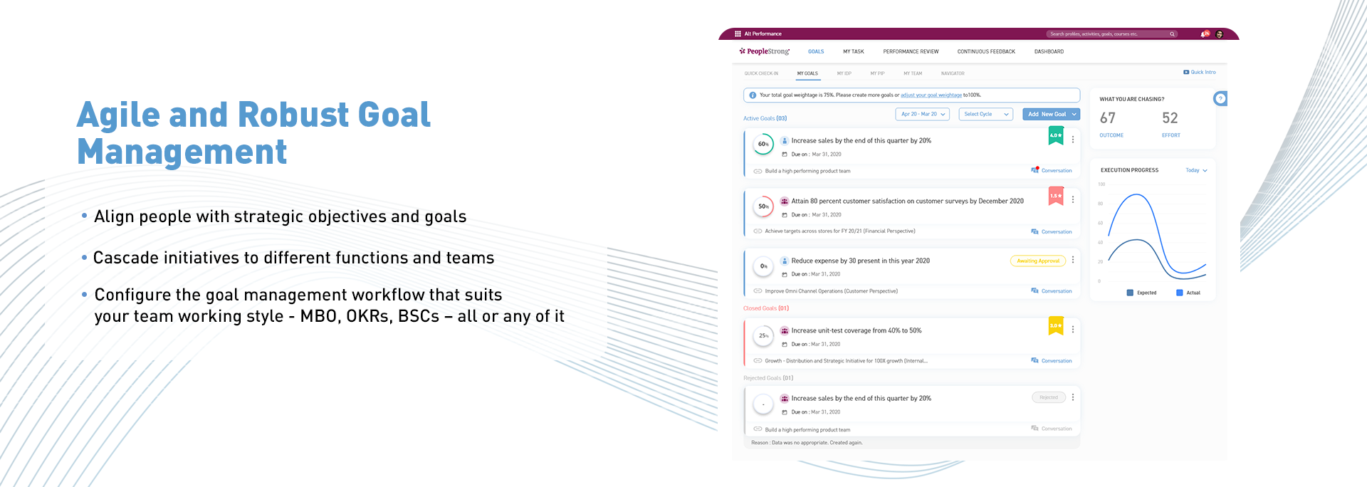 Banner-1 (Agile and Robust Goal Management)